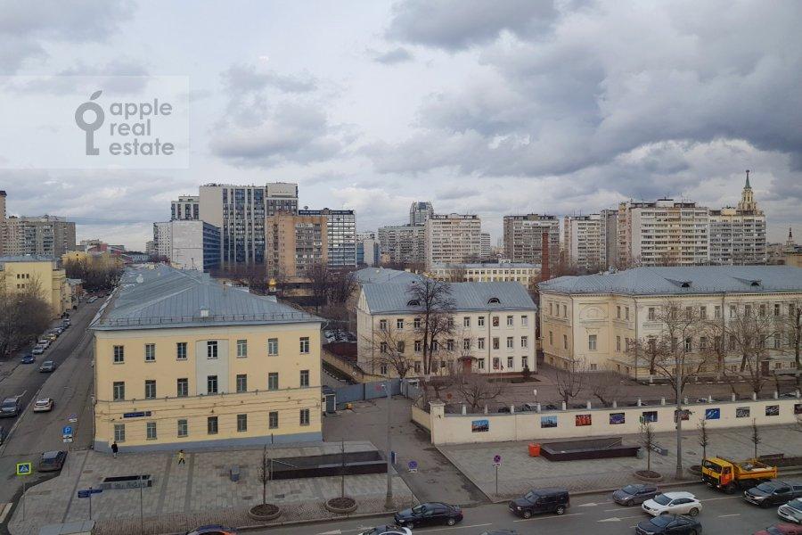 View from the window of the 2-room apartment at Bol'shaya Sukharevskaya ploshiad' 16/18S2
