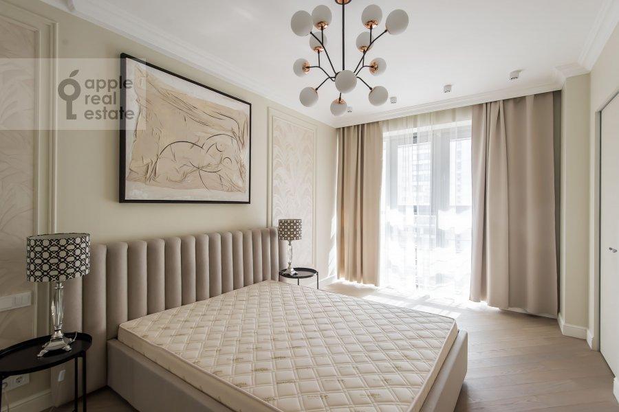 Bedroom of the 4-room apartment at Samory Mashela 2A