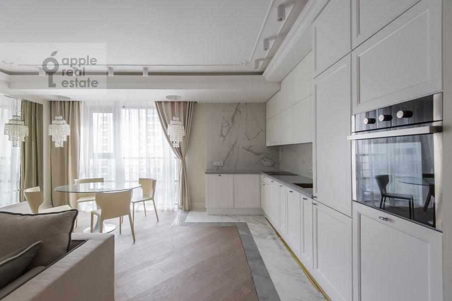 Kitchen of the 4-room apartment at Samory Mashela 2A