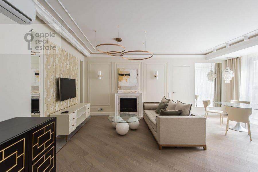 Living room of the 4-room apartment at Samory Mashela 2A