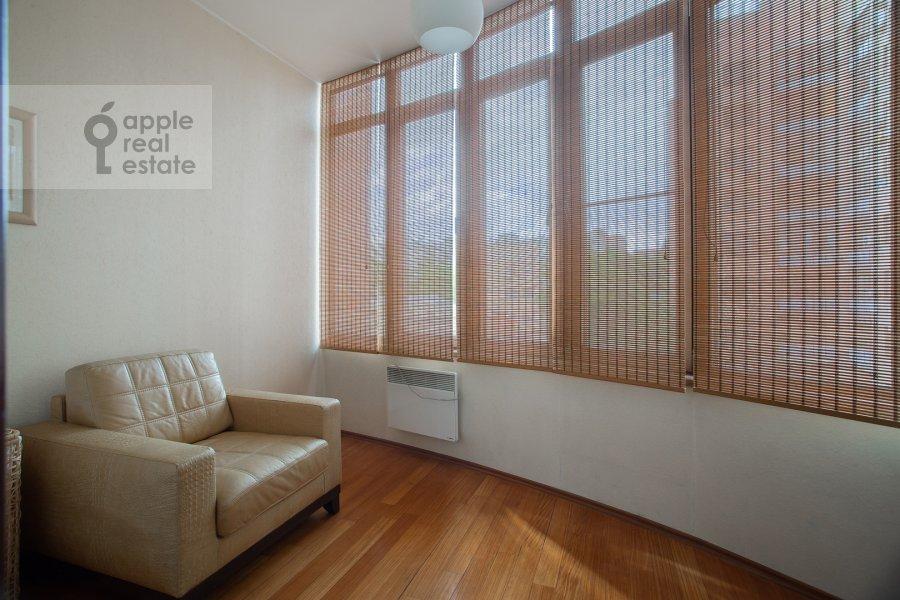 Balcony / Terrace / Loggia of the 3-room apartment at Protopopovskiy pereulok 17s3