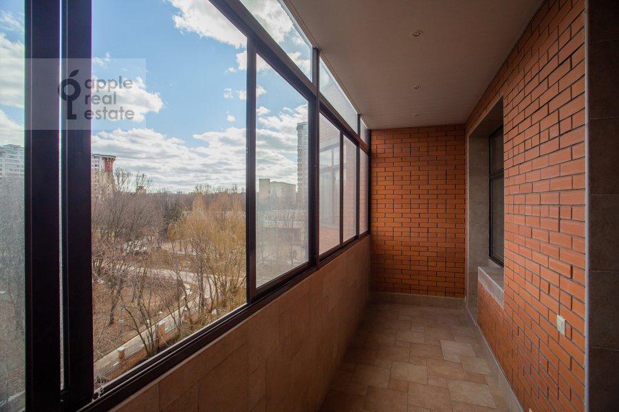 Балкон / Терраса / Лоджия в 4-комнатной квартире по адресу Мичуринский проспект 6к1