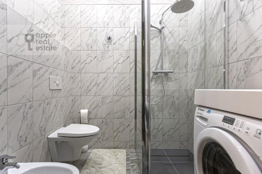 Bathroom of the 2-room apartment at Bol'shaya Andron'evskaya ulitsa 7