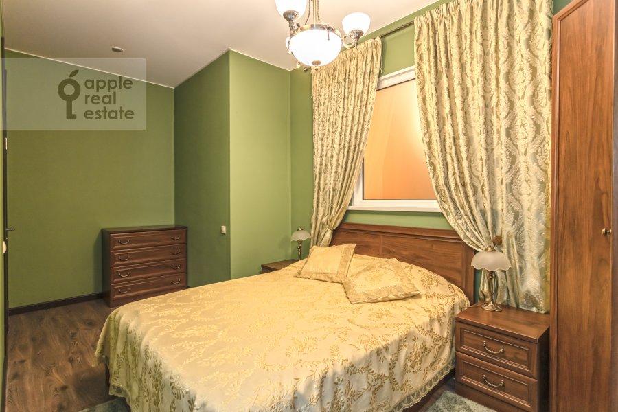 Bedroom of the 2-room apartment at Bol'shaya Andron'evskaya ulitsa 7