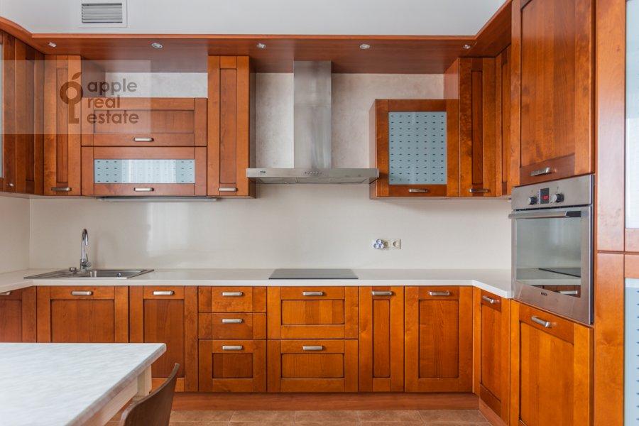 Kitchen of the 3-room apartment at Protopopovskiy pereulok 17s3
