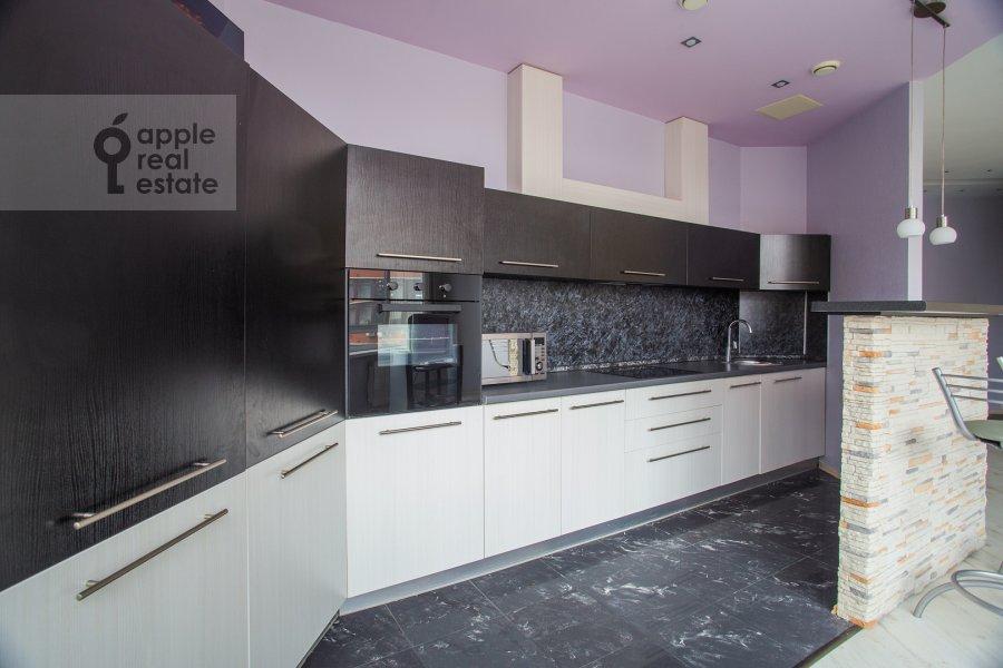 Kitchen of the 3-room apartment at Leningradskiy prospekt 76k4