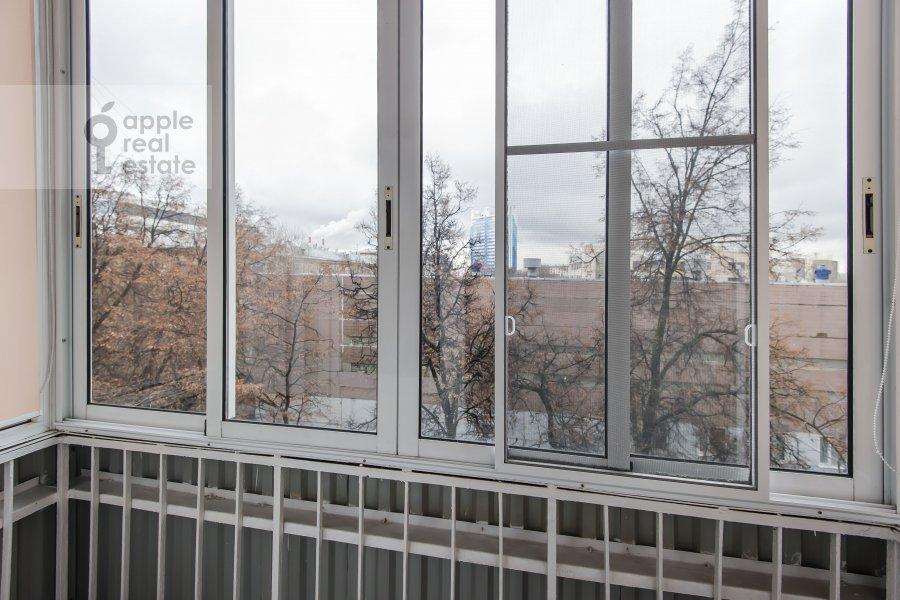 Balcony / Terrace / Loggia of the 4-room apartment at Sharikopodshipnikovskaya ulitsa 2