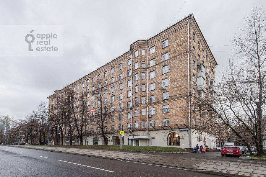 Photo of the house of the 4-room apartment at Sharikopodshipnikovskaya ulitsa 2