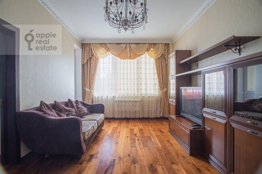 Гостиная в 3-комнатной квартире по адресу Чертановская улица 38к2