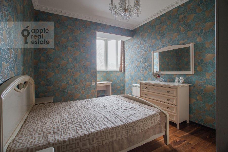 Спальня в 3-комнатной квартире по адресу Чертановская улица 38к2