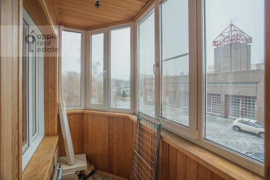 Балкон / Терраса / Лоджия в 3-комнатной квартире по адресу Чертановская улица 38к2