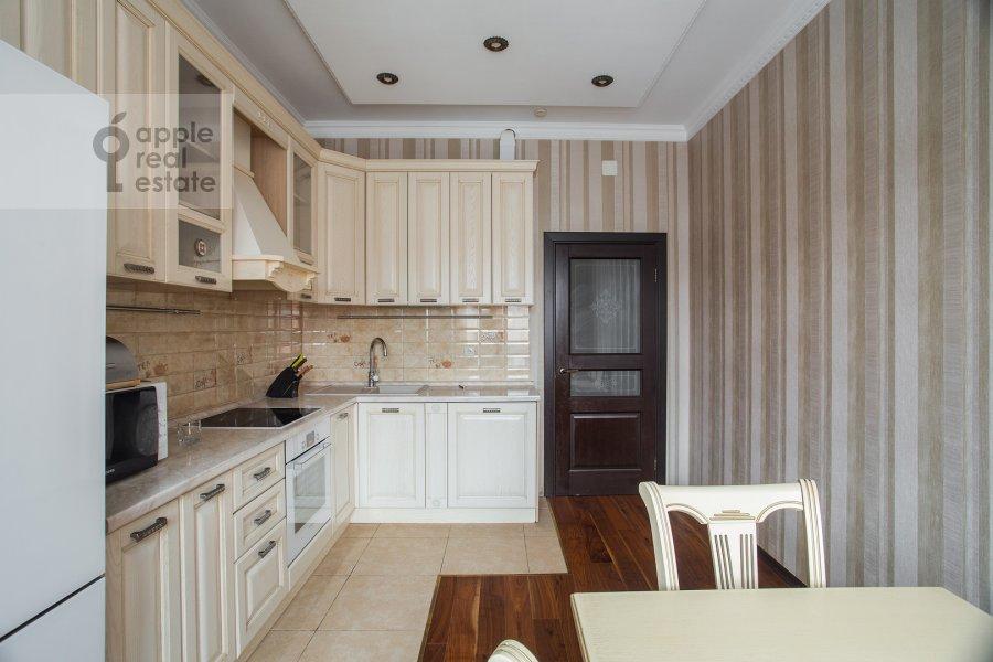 Кухня в 3-комнатной квартире по адресу Чертановская улица 38к2