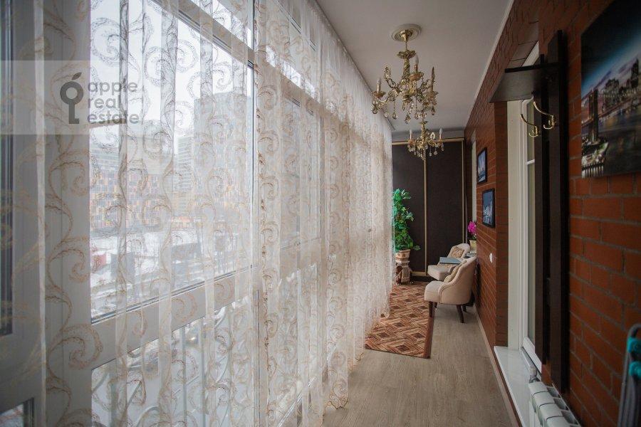 Balcony / Terrace / Loggia of the 2-room apartment at Mytnaya ulitsa 7s1