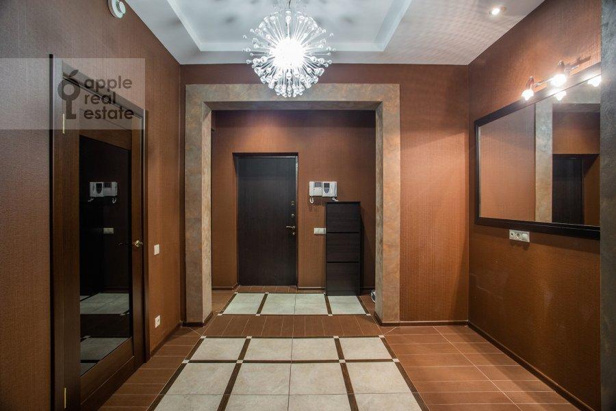 Коридор в 3-комнатной квартире по адресу Авиационная улица 77