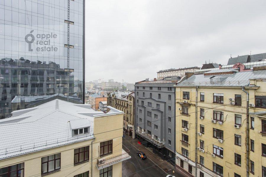 View from the window of the 4-room apartment at Bol'shaya Gruzinskaya ulitsa 69