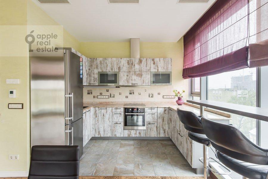 Kitchen of the 4-room apartment at Bol'shaya Gruzinskaya ulitsa 69