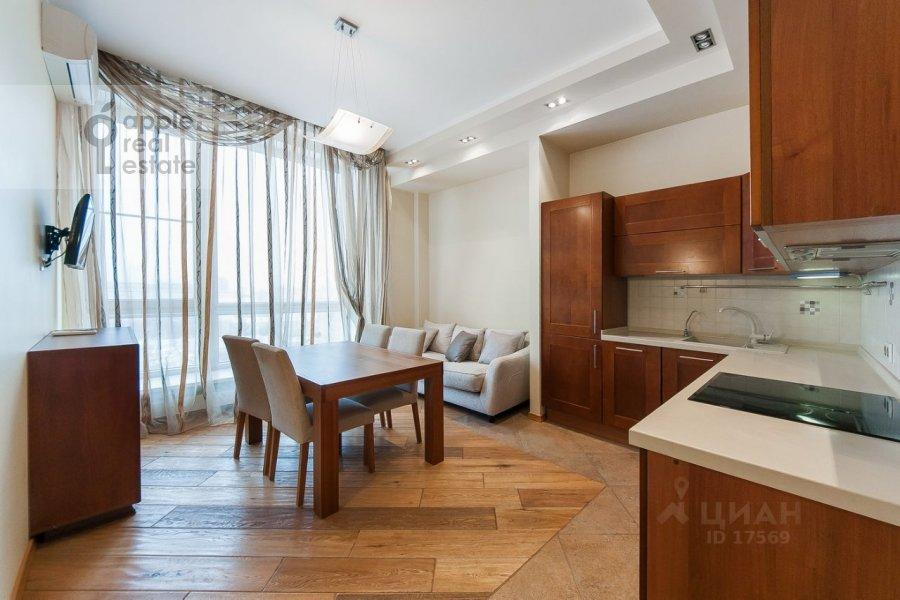 Kitchen of the 3-room apartment at Usacheva ulitsa 2s 3