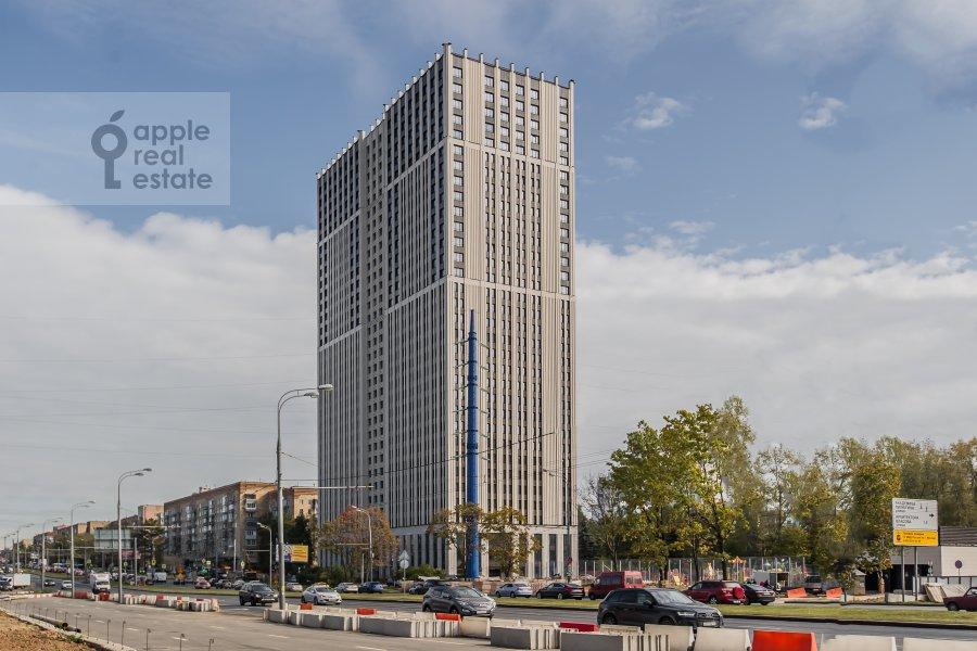Photo of the house of the 3-room apartment at Leninskiy prospekt 95B