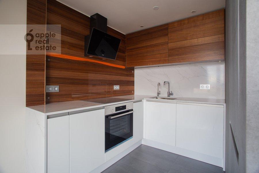 Kitchen of the 1-room apartment at Novyy Arbat 15