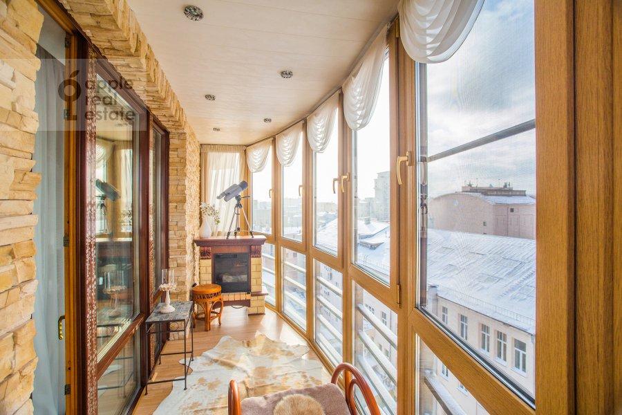Балкон / Терраса / Лоджия в 4-комнатной квартире по адресу Страстной бульвар 10к1