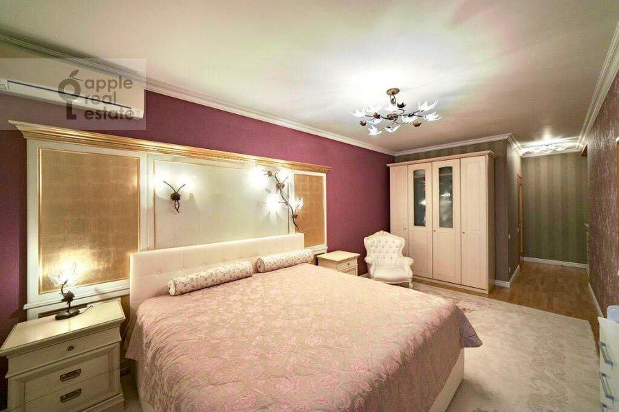 Спальня в 4-комнатной квартире по адресу Ленинский проспект 128К1
