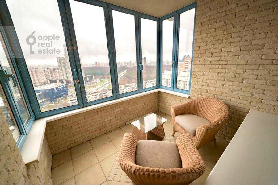 Балкон / Терраса / Лоджия в 4-комнатной квартире по адресу Ленинский проспект 128К1