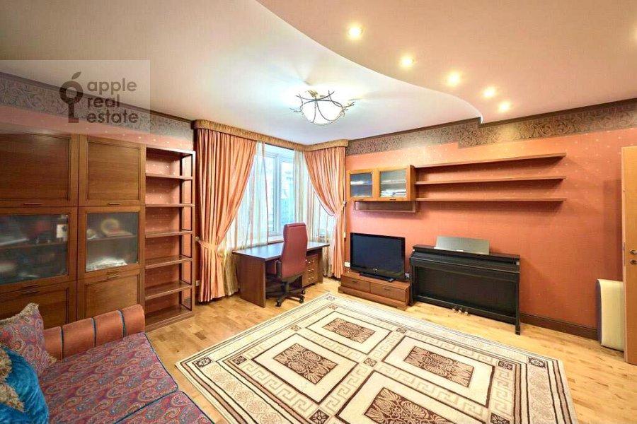 Детская комната / Кабинет в 4-комнатной квартире по адресу Ленинский проспект 128К1