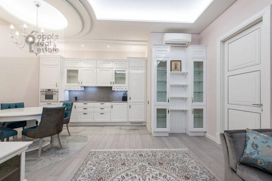 Kitchen of the 3-room apartment at Minskaya ulitsa 1GK1