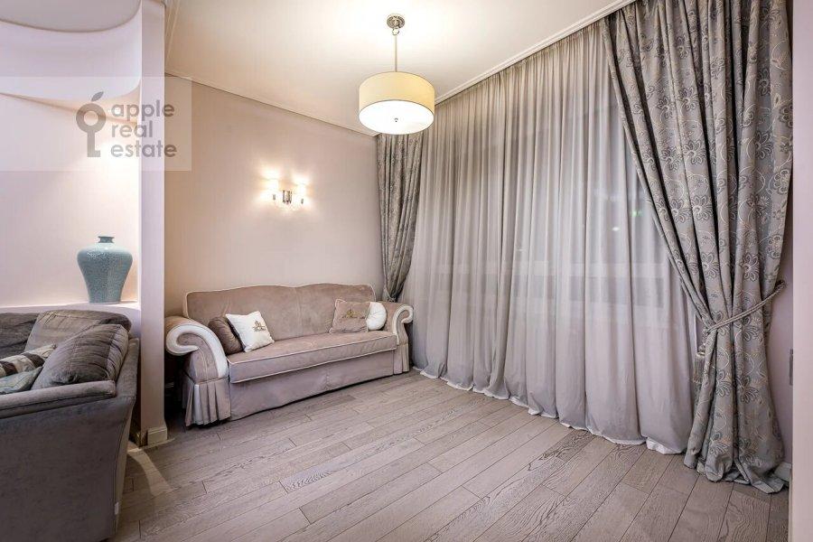 Bedroom of the 3-room apartment at Minskaya ulitsa 1GK1