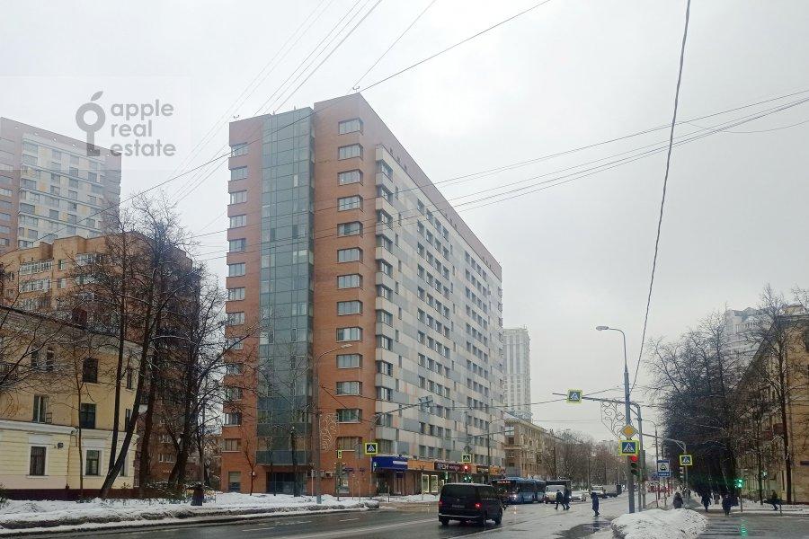 Photo of the house of the 3-room apartment at ulitsa Marshala Biryuzova 31