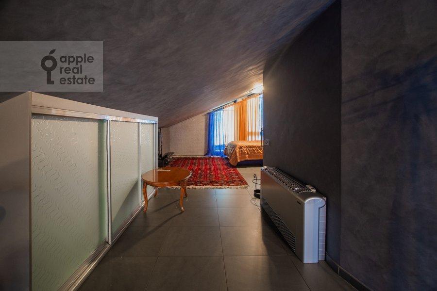 Спальня в 3-комнатной квартире по адресу Лялин переулок 19к1