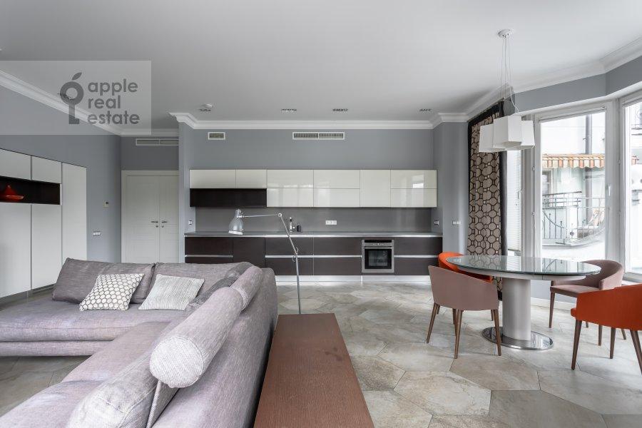Kitchen of the 4-room apartment at Beregovaya ulitsa 4K1