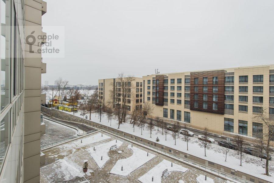 Вид из окна в 4-комнатной квартире по адресу Ленинградское шоссе 37к1