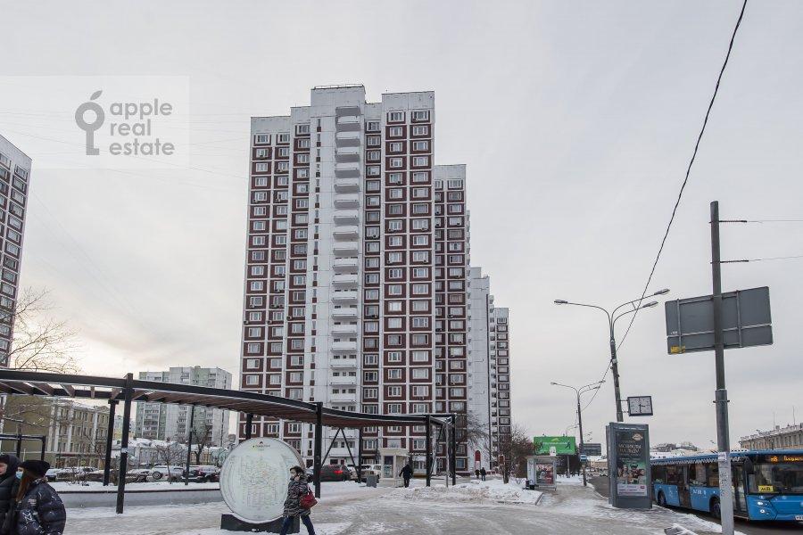 Photo of the house of the 3-room apartment at Sergiya Radonezhskogo 12k1