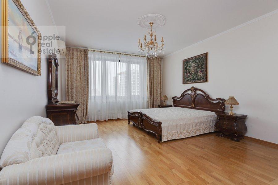 Спальня в 5-комнатной квартире по адресу Рублевское шоссе 11к2