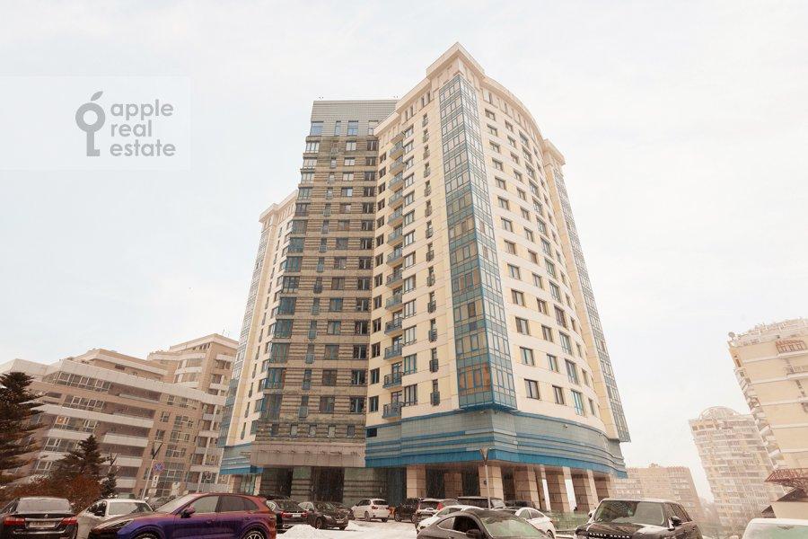 Photo of the house of the 5-room apartment at Mosfil'movskaya ulitsa 70k7