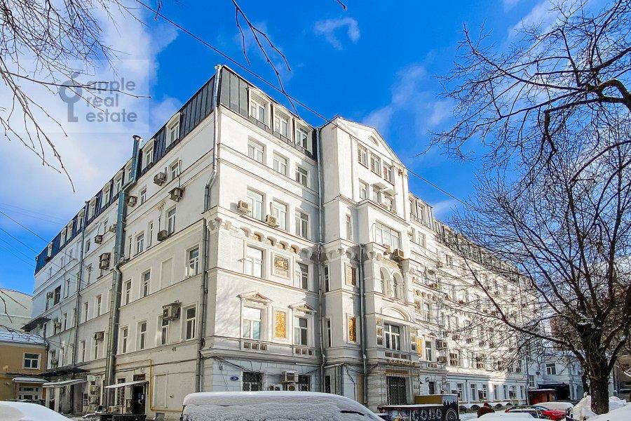Photo of the house of the 2-room apartment at Myasnitskaya ulitsa 24/7s3