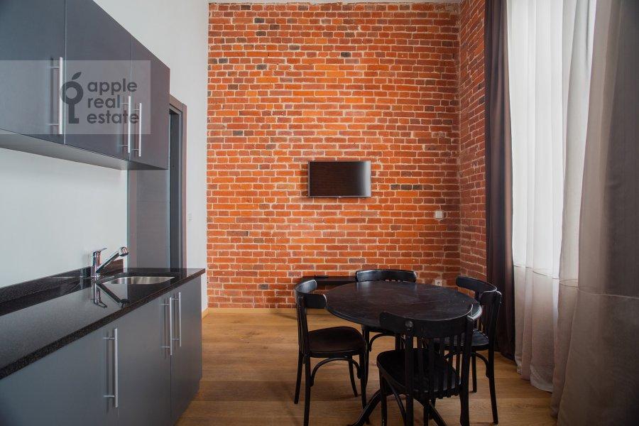 Kitchen of the 2-room apartment at Myasnitskaya ulitsa 24/7s3