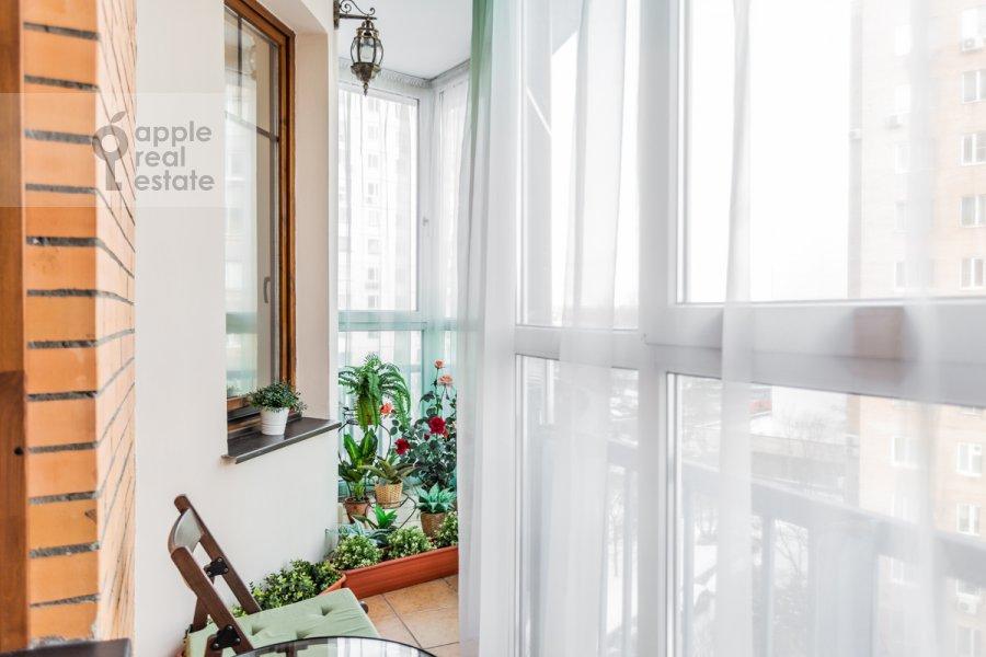 Balcony / Terrace / Loggia of the 3-room apartment at Staroslobodskaya ulitsa 3
