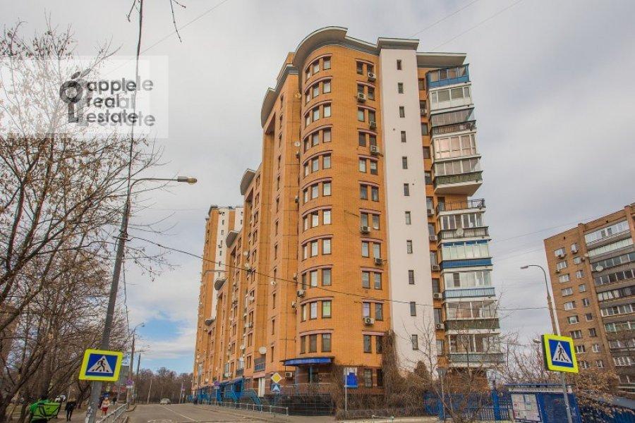 Photo of the house of the 3-room apartment at Staroslobodskaya ulitsa 3