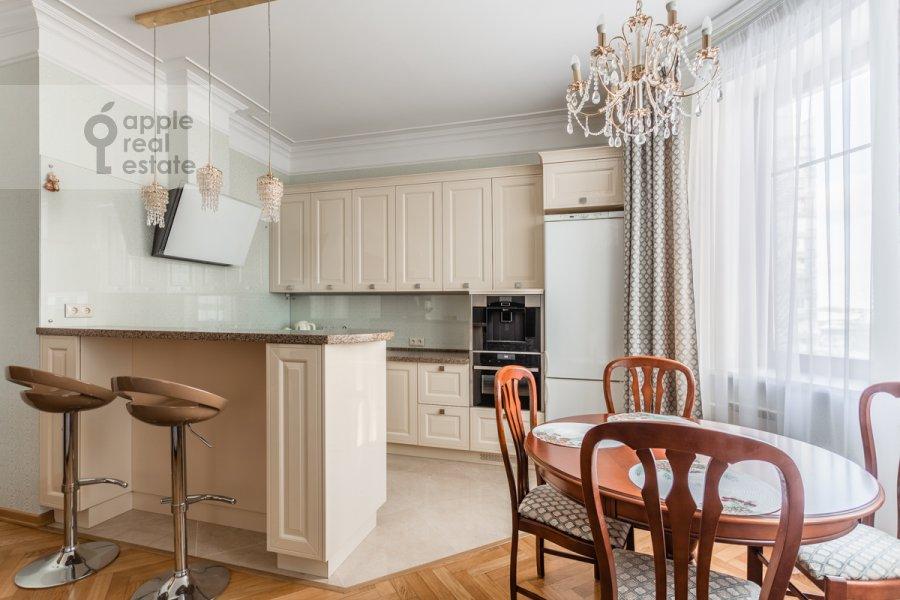 Kitchen of the 3-room apartment at Staroslobodskaya ulitsa 3