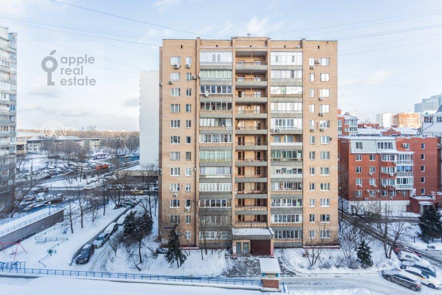 Вид из окна в 3-комнатной квартире по адресу Старослободская улица 3