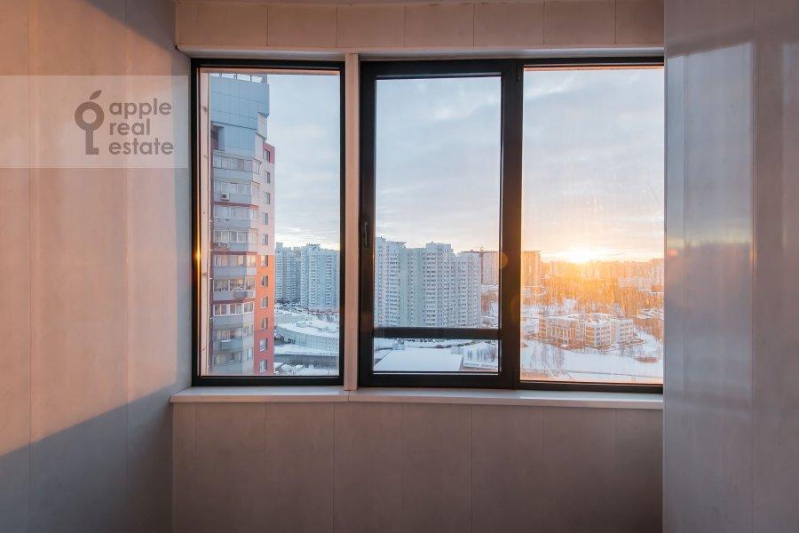 Balcony / Terrace / Loggia of the 3-room apartment at Koshtoyantsa 20K2