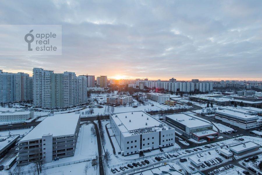 View from the window of the 3-room apartment at Koshtoyantsa 20K2