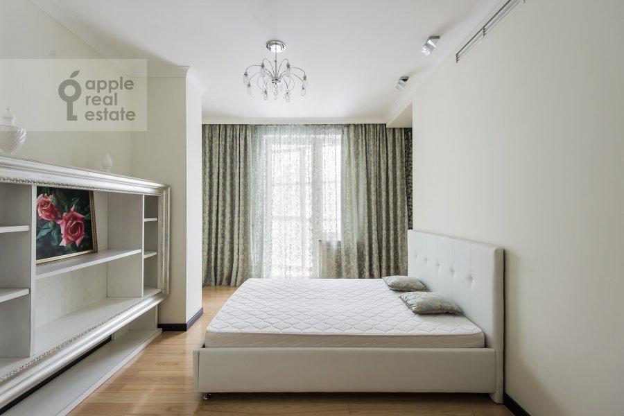Bedroom of the 3-room apartment at Bol'shaya Yakimanka 50