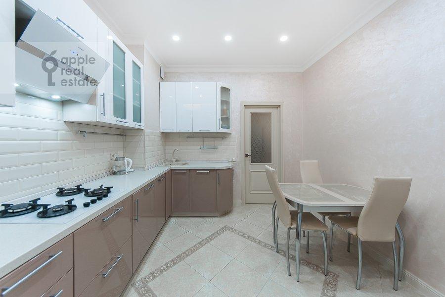 Kitchen of the 3-room apartment at ulitsa Dobrolyubova 29/16