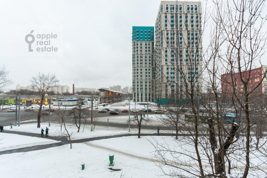 Вид из окна в 3-комнатной квартире по адресу улица Добролюбова 29/16
