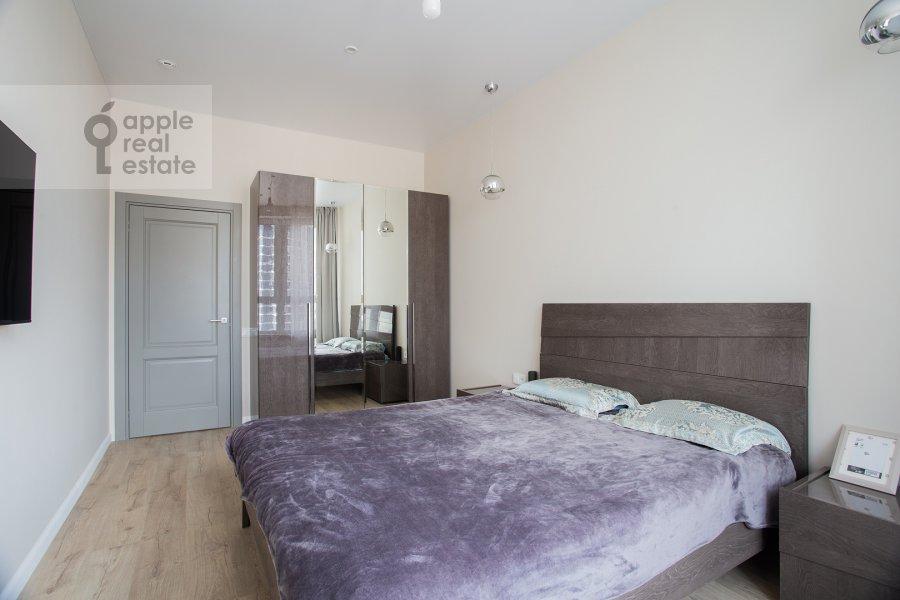 Спальня в 2-комнатной квартире по адресу Шелепихинская набережная 34к1