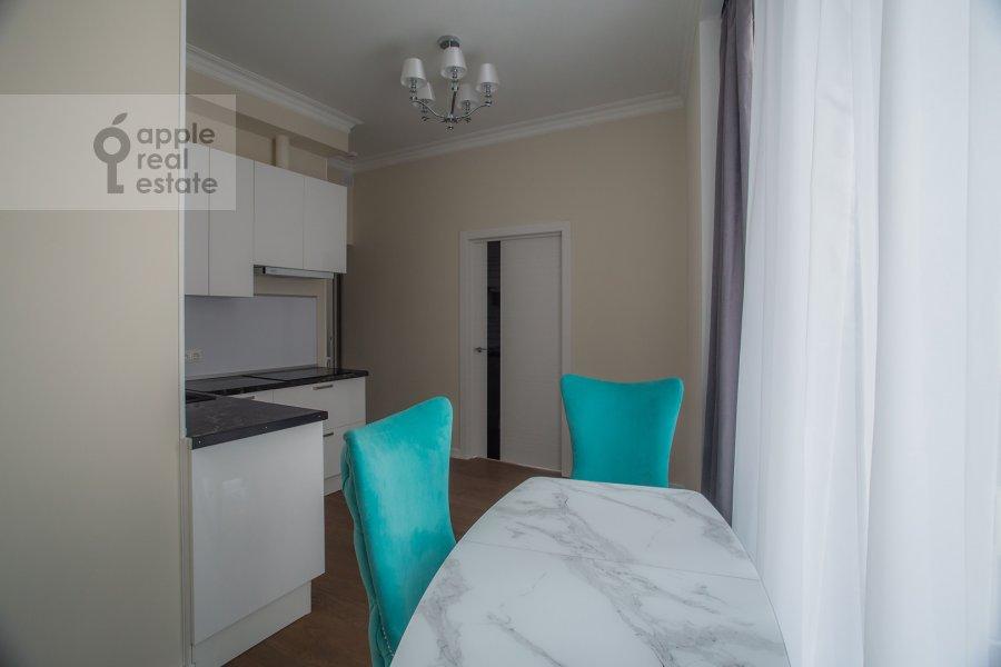 Кухня в 2-комнатной квартире по адресу Ленинградский пр-кт 36с37
