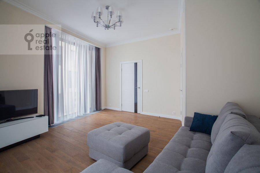 Гостиная в 2-комнатной квартире по адресу Ленинградский пр-кт 36с37